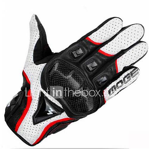 Motorcycle Gloves Summer Knight Riding Locomotive Racing Off-Road Leather Gloves Anti-Falls Four Seasons