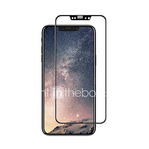Tempered Glass Screen Protector for Apple iPhone X Full Body Screen Protector High Definition (HD) 9H Hardness 3D Curved edge