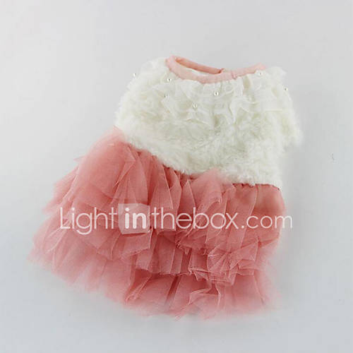 Dog Dress Dog Clothes Casual/Daily Solid