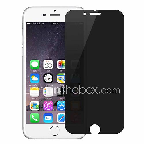 Screen Protector Apple for iPhone 8 Tempered Glass 1 pc Front Screen Protector 3D Curved edge Privacy Anti-Spy Anti-Fingerprint