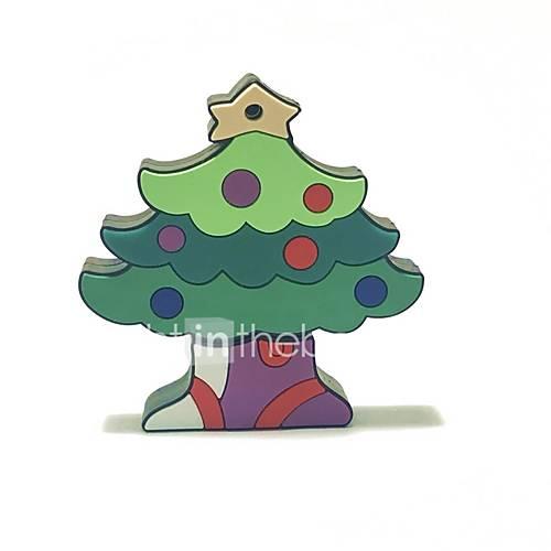 4GB Christmas USB Flash Drive Cartoon Christmas Tree Christmas Gift USB 2.0