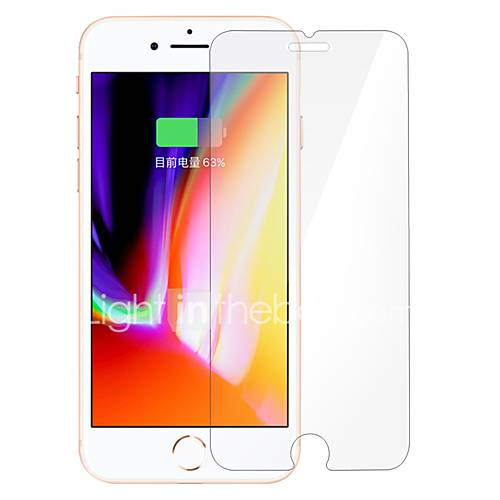 Tempered Glass Screen Protector for Apple iPhone 8 Front Screen Protector High Definition (HD) Scratch Proof Anti-Fingerprint 3D Curved