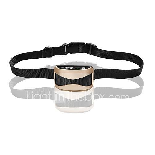Dog Bark Collar Electronic Waterproof Anti Bark Rechargeable Electronic/Electric