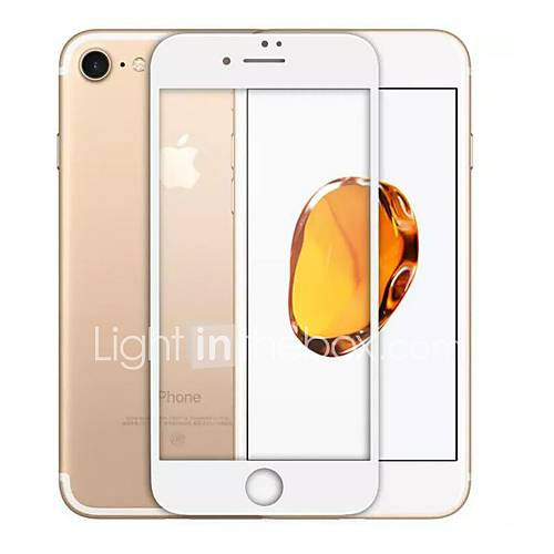 Tempered Glass Screen Protector for Apple iPhone 8 Full Body Screen Protector 9H Hardness 2.5D Curved edge Explosion Proof Scratch Proof