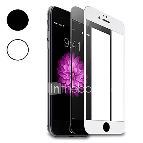 Screen Protector Apple for iPhone 8 Tempered Glass 1 pc Front Screen Protector 3D Curved edge Anti-Fingerprint 9H Hardness High