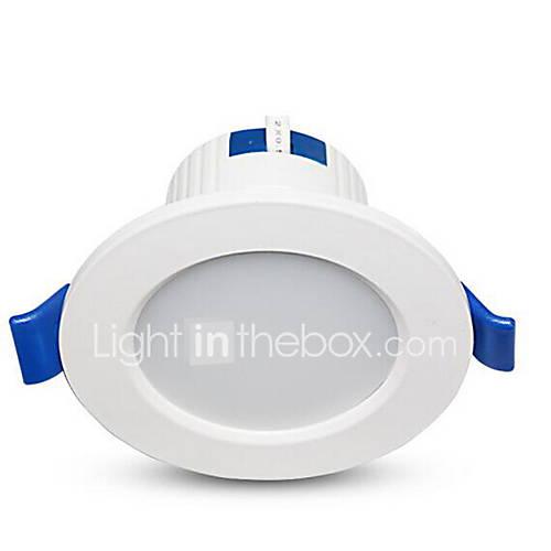 1Pc 5W Led Downlight Celing Light Warm Yellow/Warm White/White AC220V Size Hole 95mm 3000/4000/6500K