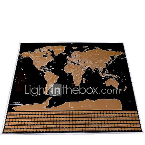 Jigsaw Puzzle Toys Square Maps Pieces