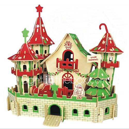 DIY KIT 3D Puzzles Jigsaw Puzzle Logic  Puzzle Toys Toys Castle Animals 3D Houses Fashion Kids Hot Sale Classic Fashion New Design Kids 1