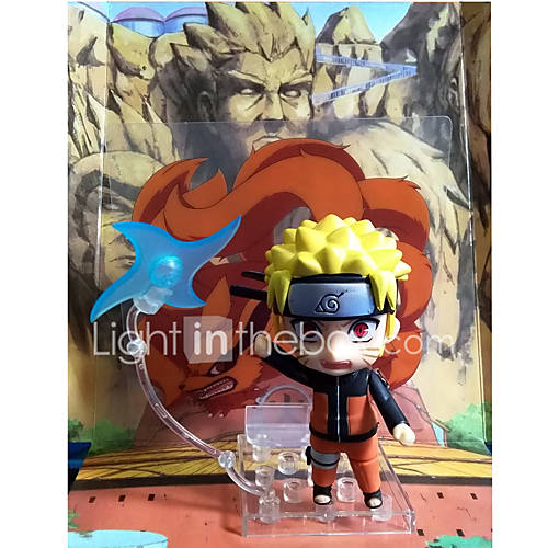 Anime Action Figures Inspired by Naruto Naruto Uzumaki PVC 10 CM Model Toys Doll Toy