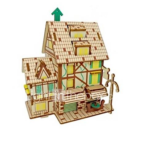 DIY KIT 3D Puzzles Jigsaw Puzzle Logic  Puzzle Toys Toys House Animals 3D Animals Houses Kids Parrot Classic Fashion New Design Kids 1