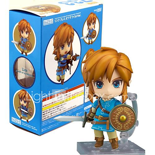 Anime Action Figures Inspired by The Legend of Zelda Link PVC 10 CM Model Toys Doll Toy