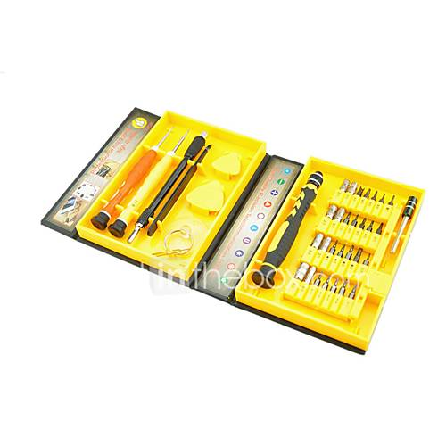 Cell Phone Repair Tools Kit Tweezers Screwdriver Extension Bit Screwdriver Suction Cup Plastic/Stianless Steel Pry Sim Card Ejector Pin