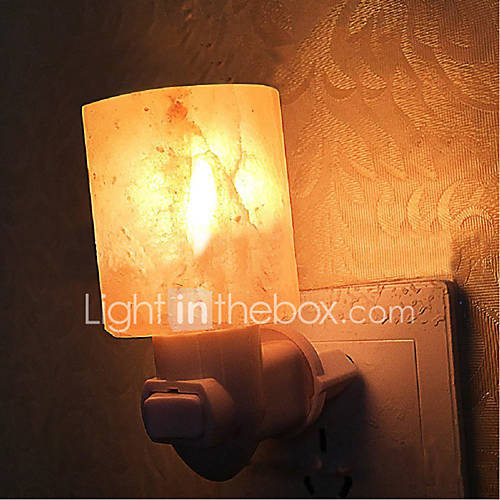 YouOKLight 7W   Himalayan Salt Lamp Air Purifier Crystal Salt Rock Bedside lamp Night Light Bedroom Corridor Toilet