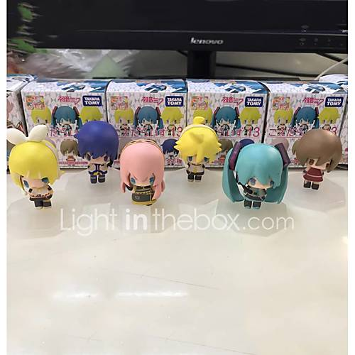 Anime Action Figures Inspired by Vocaloid Hatsune Miku PVC CM Model Toys Doll Toy