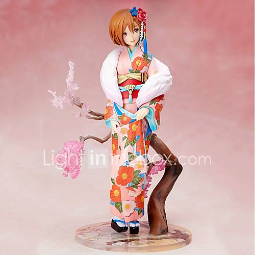 Anime Action Figures Inspired by Vocaloid Sakura Miku PVC CM Model Toys Doll Toy