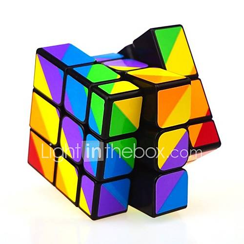 Rubik's Cube Mirror Cube 333 Smooth Speed Cube Rubik's Cubes Puzzle Cube Stress and Anxiety Relief Focus Toy Office Desk Toys Relieves