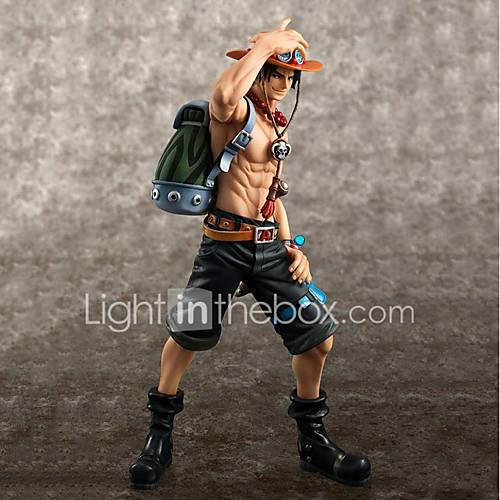 Anime Action Figures Inspired by One Piece Ace PVC CM Model Toys Doll Toy Unisex