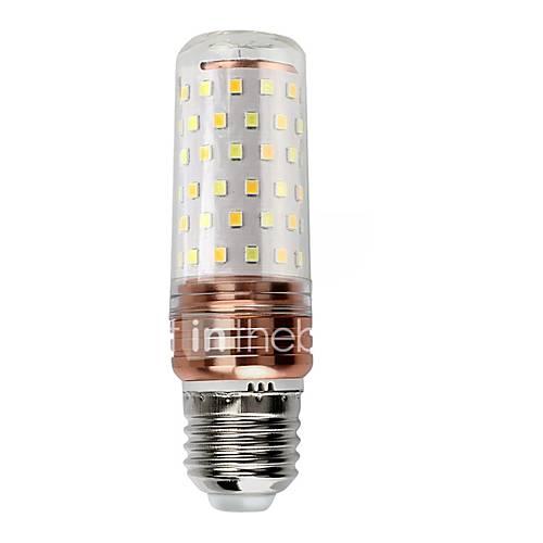 E14 220V 12W 1100LM 56LED 5730SDM Warm White LED Corn Light Bulb