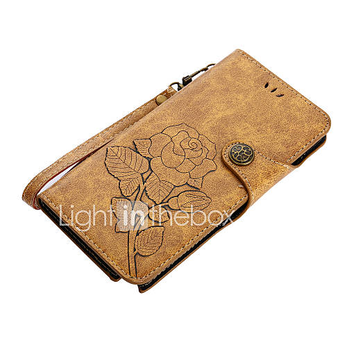 Case For Samsung Galaxy Note 8 Note 5 Card Holder Wallet with Stand Flip Magnetic Pattern Full Body Cases Flower Hard PU Leather for Note