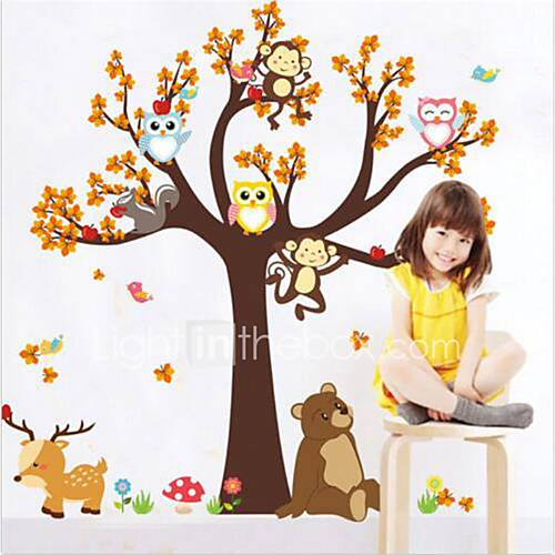 Animals Wall Stickers Plane Wall Stickers Decorative Wall Stickers Vinyl Home Decoration Wall Decal Wall