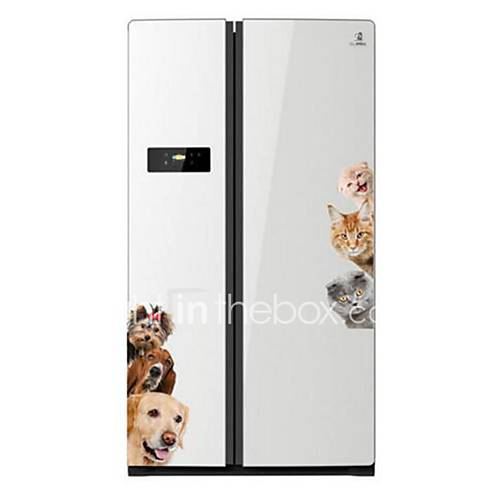 Animals Wall Stickers 3D Wall Stickers Decorative Wall Stickers Vinyl Home Decoration Wall Decal Wall Fridge
