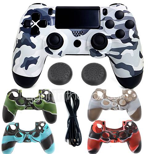 for PS4 Wired USB Bags Cases and Skins Joystick - Sony PS4 150 Gaming Handle Vibration USB 2.0 Wired >480