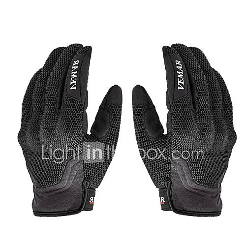 vemar vm-173 motorcycle gloves  breathable comfortable non-skid sporty design