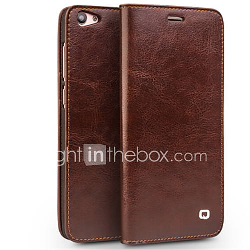 Case For Vivo vivo X7 Plus vivo X7 Card Holder Wallet Shockproof Flip Full Body Cases Solid Color Hard Genuine Leather for Vivo X7 Plus
