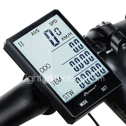 INBIKE CX-9 2.8'' Large Screen Bike Computer / Bicycle Computer Stopwatch Waterproof Wireless Odometer Road Cycling Cycling / Bike Cycling