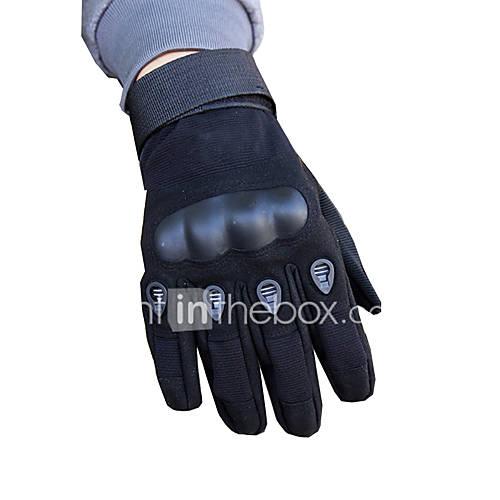 Full Finger Unisex Motorcycle Gloves Carbon Fiber Fiber Wearable Non-Skid Breathability