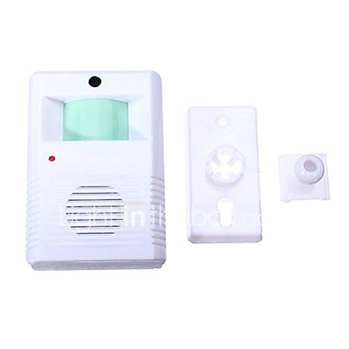905 Wireless One to One Doorbell Ding dong IR Infrared Surface Mounted Doorbell