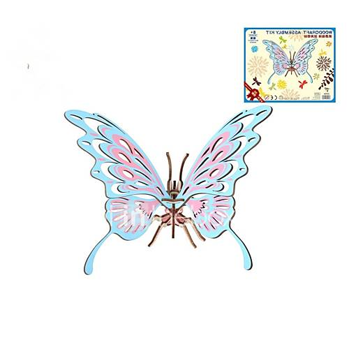 Wooden Puzzle Logic  Puzzle Toy Butterfly Theme Bird Fashion Classic Fashion New Design Professional Level Focus Toy Stress and Anxiety