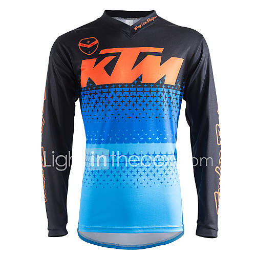 Motorcycle Long-Sleeved T-Shirt Quick-Drying Riding Suits Down The Costume
