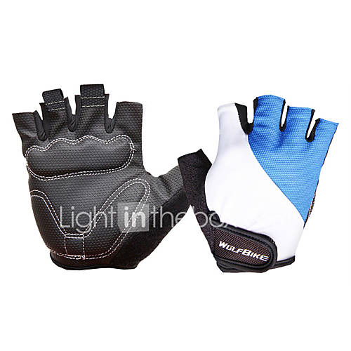 WOSAWE Half-finger Unisex Motorcycle Gloves Breathable Mesh Breathable / Wearproof / Non-slip