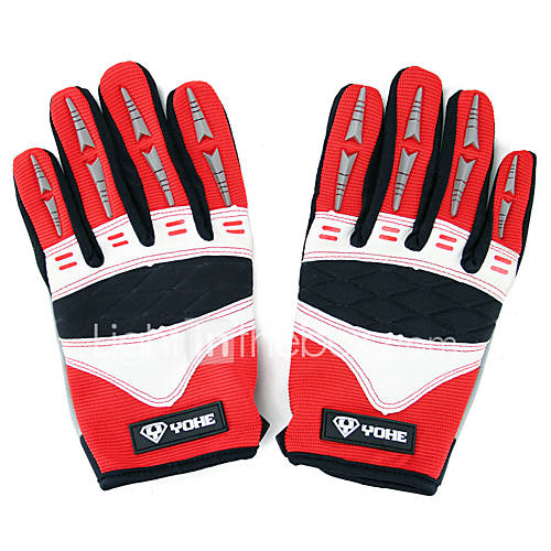 YOHE Full Finger Unisex Motorcycle Gloves Cloth Touch Screen / Breathable / Wearproof