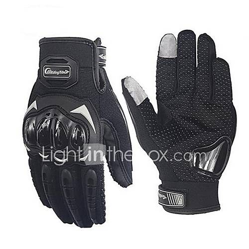 RidingTribe Full Finger Unisex Motorcycle Gloves Breathable Mesh / Healthy Fabric Breathable / Non-slip