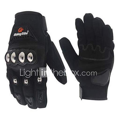 RidingTribe Full Finger Unisex Motorcycle Gloves Nylon Breathable / Touch Screen