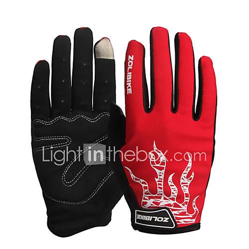 ZOLI Full Finger / Half-finger Unisex Motorcycle Gloves Cloth Quick Dry / Breathable / Wearproof