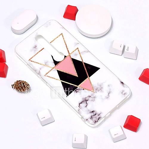 Case For Huawei Huawei Mate RS Porsche Design / Huawei Mate 20 Pattern Back Cover Marble Soft TPU for Huawei Mate RS Porsche Design / Mate 10 / Mate 10 pro