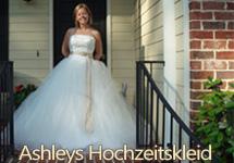 Ashleys Hochzeitskleid
