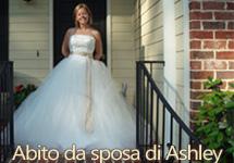 Abito da sposa di Ashley