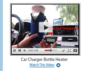 Car Charger Bottle Heater