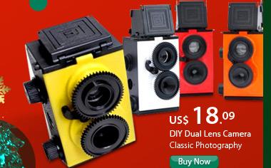 DIY Dual Lens Camera