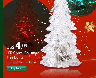 LED Crystal Christmas Tree Lights