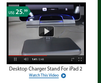 Desktop Charger Stand For iPad 2