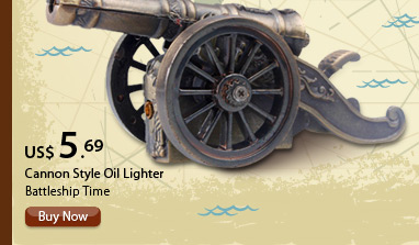 Cannon Style Oil Lighter