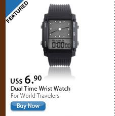 Dual Time Wrist Watch