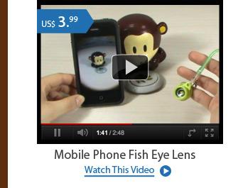 Mobile Phone Fish Eye Lens