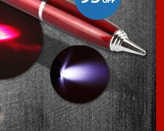 Ball Pen With Laser Pointer