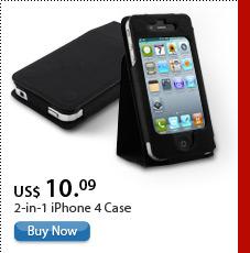 2-in-1 iPhone 4 Case
